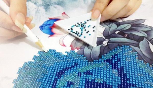 Вышивка картин алмазами